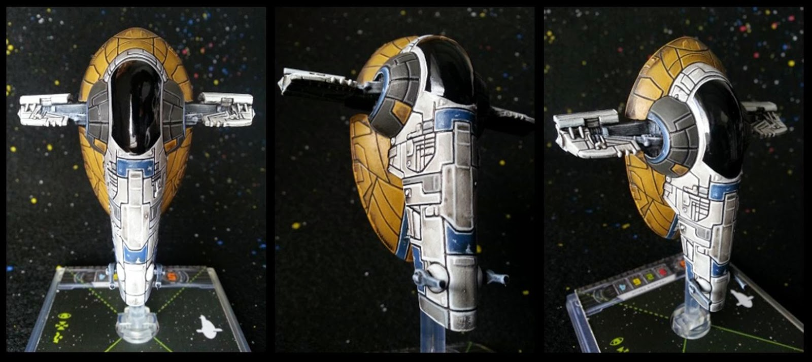 x-wing miniatures game re-paints