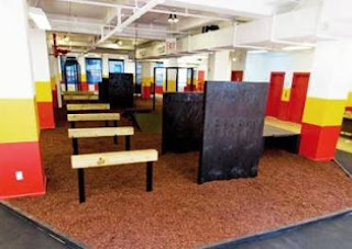 Warrior Fitness obstacle course