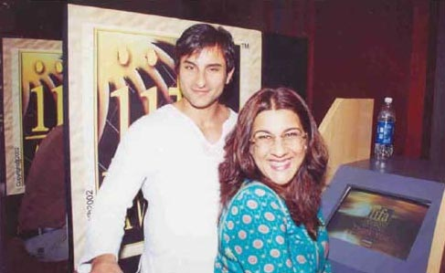 >Saif Ali Khan and Amrita