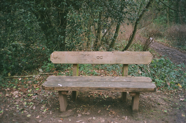 London bench Nunhead Cemetery