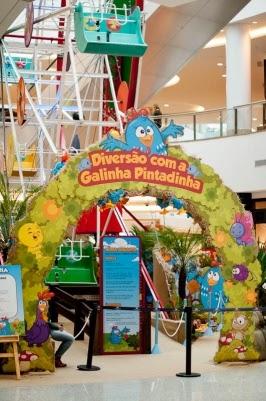 Parque da Galinha Pintadinha no Shopping Vila Velha