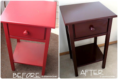 Fixing up thrifted furniture is a cheap alternative to buying new