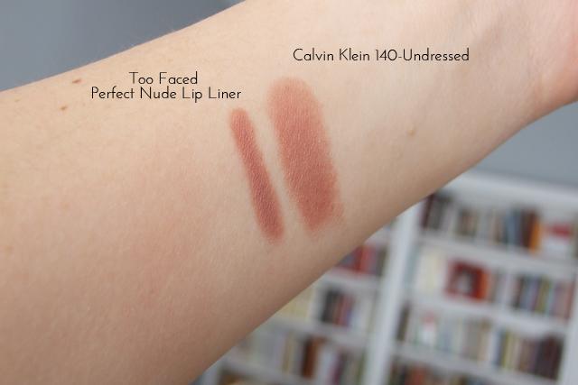 #lipstick #calvinklein #undressed
