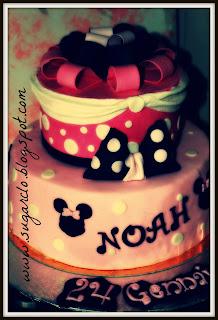 torta minnie per noah