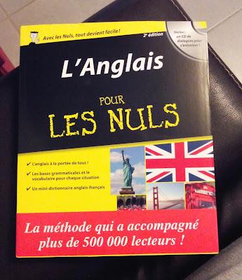 l'anglais pour les nuls, anglais, apprentissage, livre, bullelodie