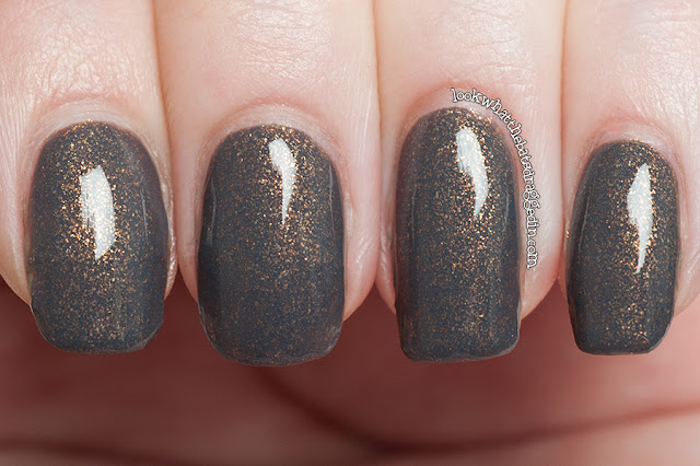 Illamasqua facet nail polish swatch sacred hour collection