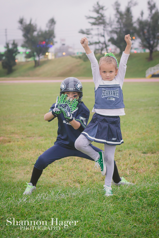 Seahawks Cheerleader Halloween Costume