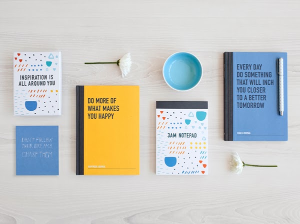 Happiness is... 2014 Inspirational Diaries and Planners from Kikki.K