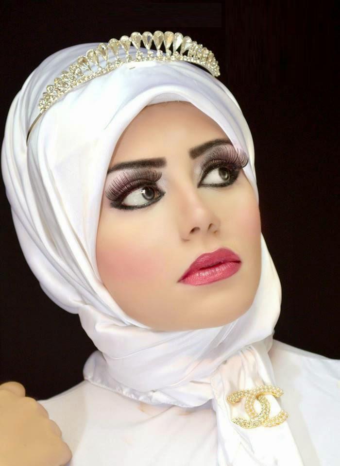 Accessoires hijab mariée