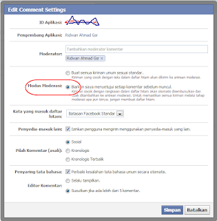 cara memunculkan pemberitahuan facebook