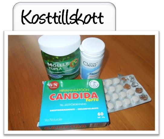 tabletter mot candida