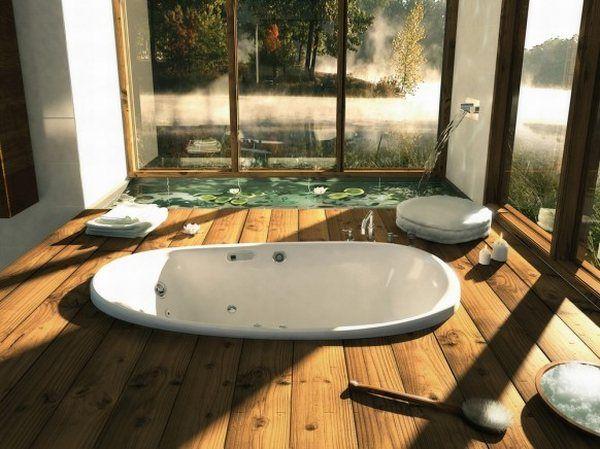 Decorar Un Baño Romantico:Decorar Casa y Hogar: 10 Diseños de Baños SPA Románticos