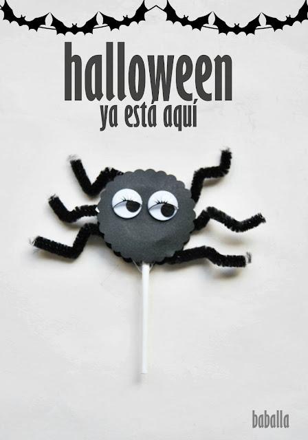 piruletas araña-halloween ya está aquí-165-baballa