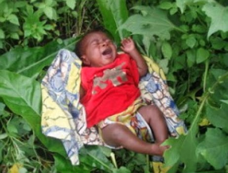 baby abandoned bush abia state nigeria