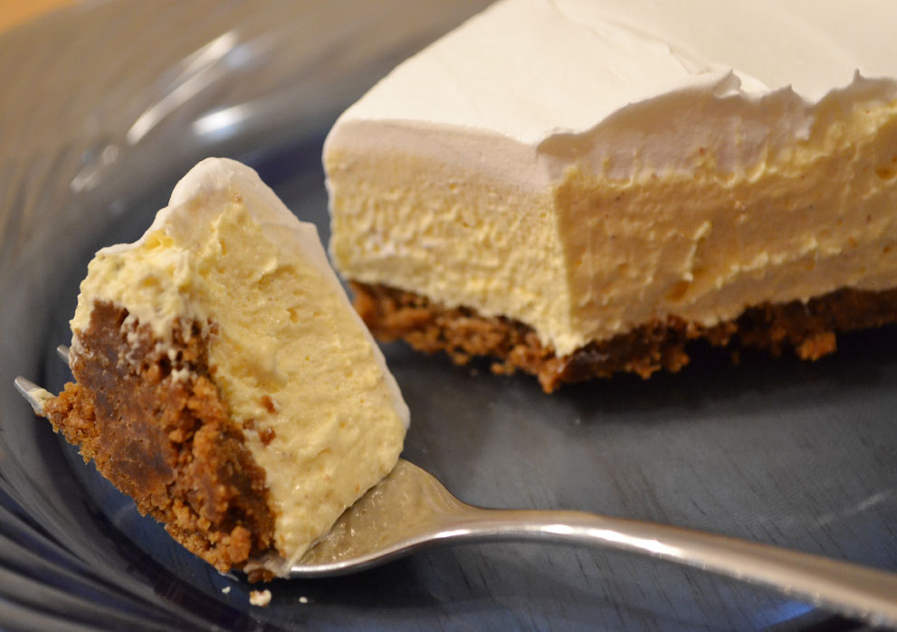 Sunny by Design: Eggnog Cream pie
