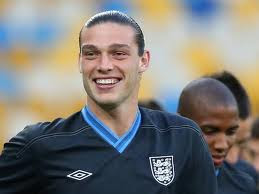 Carroll celebrates his header against Sweden