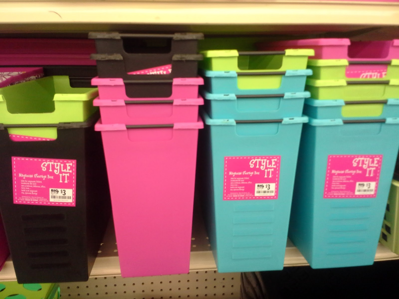 Sweet Storage Options. I LOVE the stacking bins and the colorful crate ...