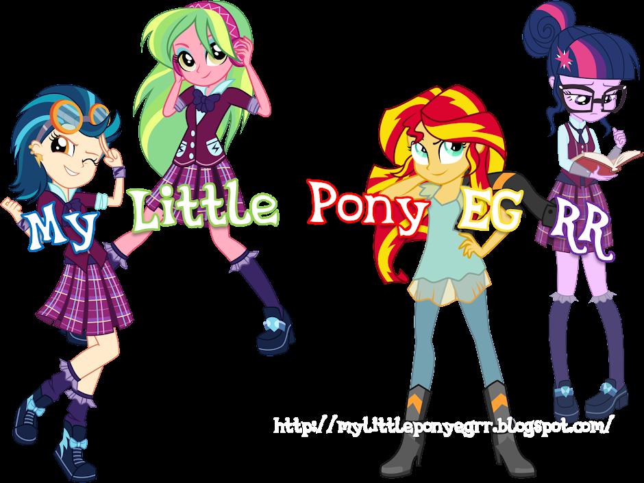 My Little Pony EG RR: noviembre 2015