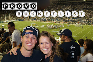 Provo Utah bucket list