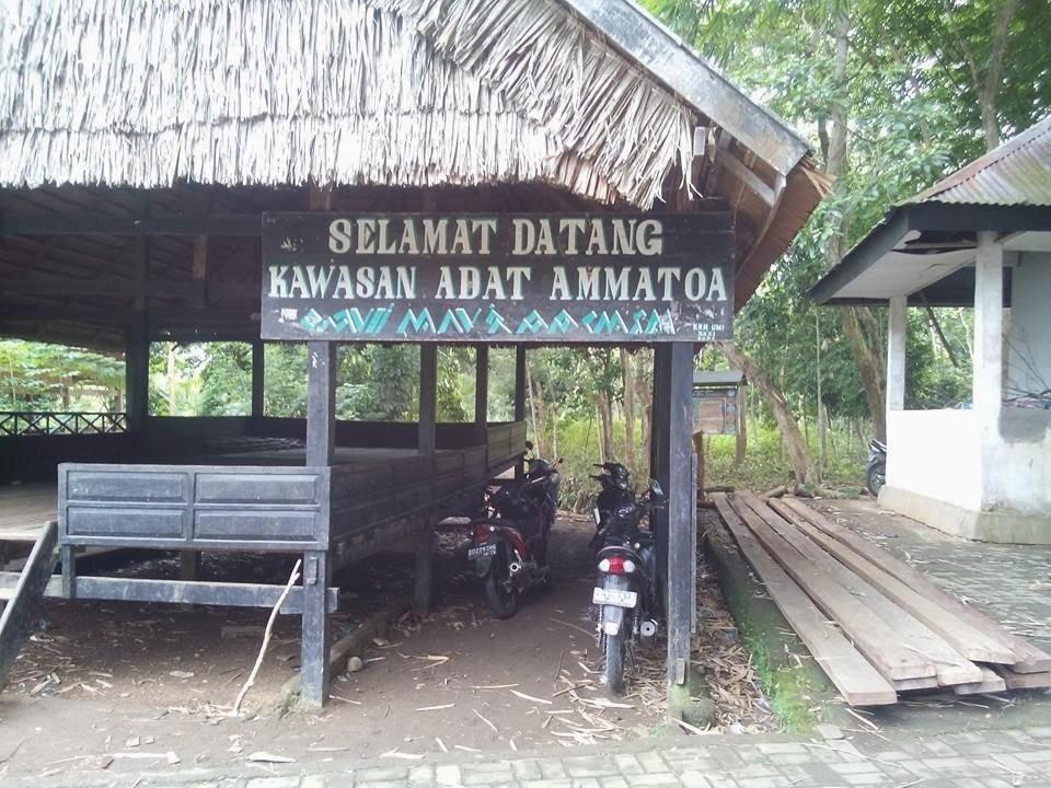 Eksplorasi Folklore kawasan Adat Amma Toa Kajang Bulukumba