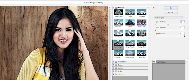 poster edges raisa