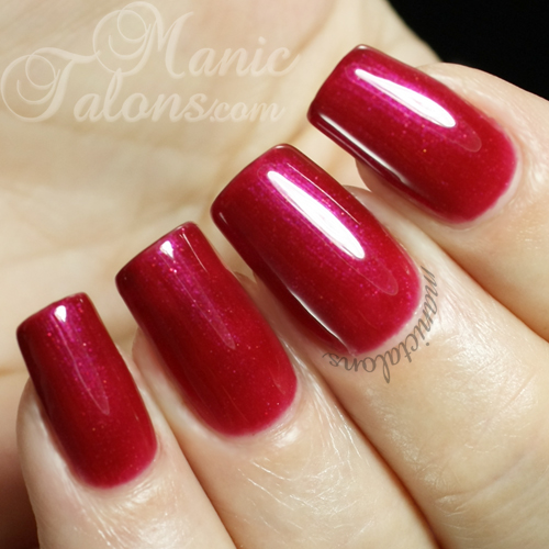 Pink Gellac by Chickettes Passion Pink Swatch
