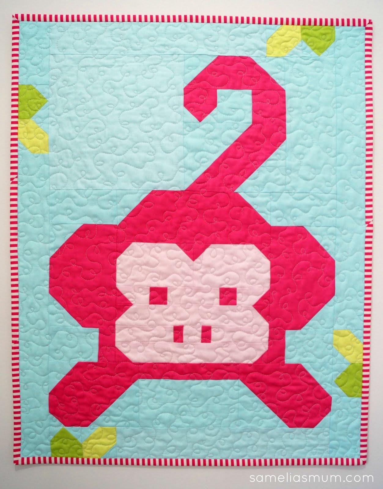 Samelia's Mum: Monkey Business Quilt : monkey business quilt pattern - Adamdwight.com