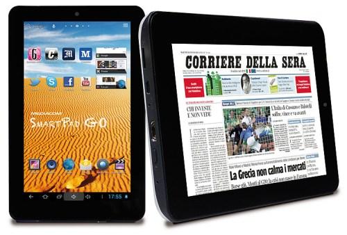 Nuovo tablet dual core da 7 pollici di diagonale da parte di Mediacom