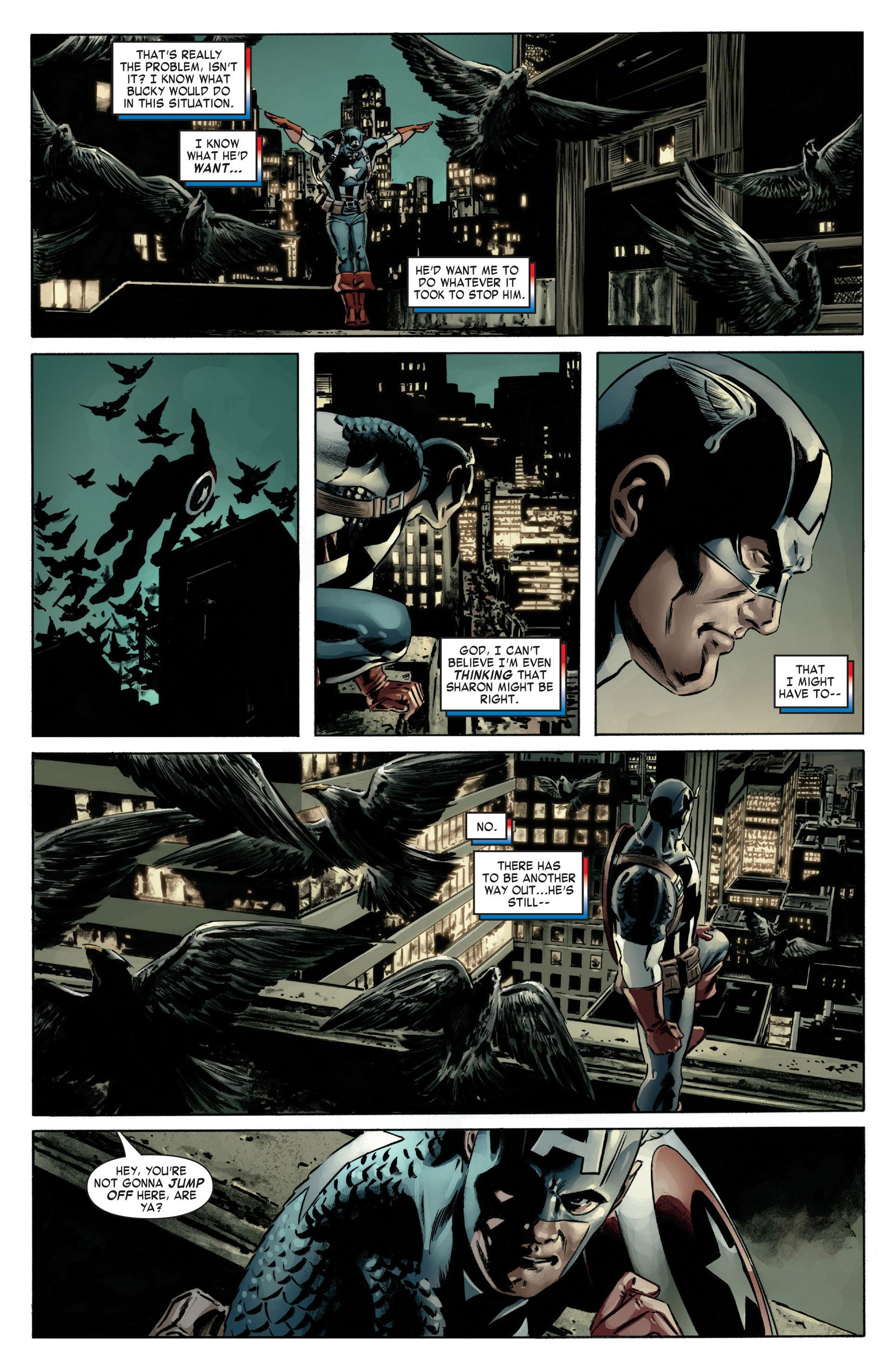 Captain America (2005) Issue #12 #12 - English 22