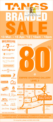 TANGS Branded Sale 2012
