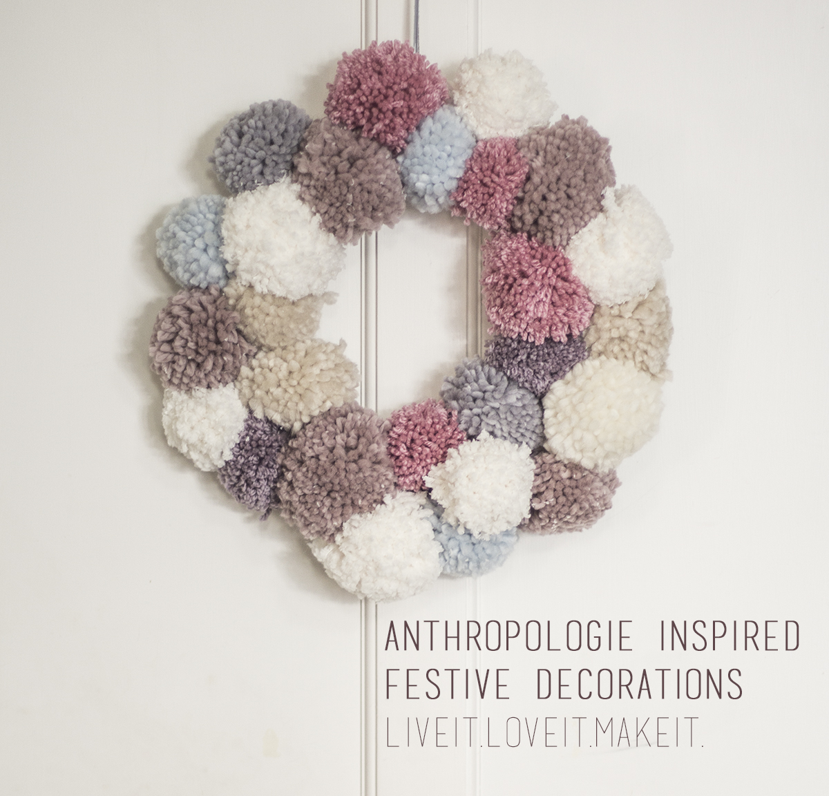 Make It Anthropologie Inspired Christmas Decorations