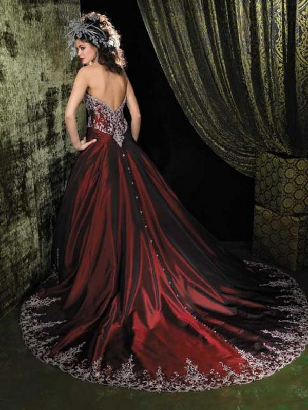 Color is red collected here some of most beautiful red wedding dresses