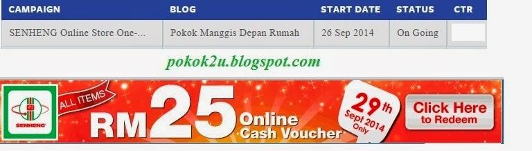 CPUV Earning-SENHENG Online Store One