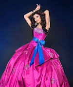 Vestido para fiesta de 15 años de color rosado tiffanyhomecomingdresses