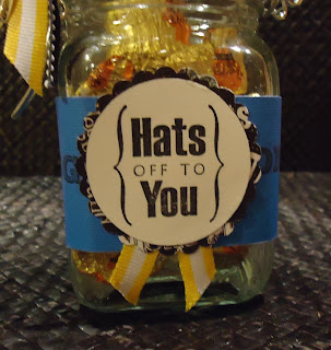 Graduation Candy Jar