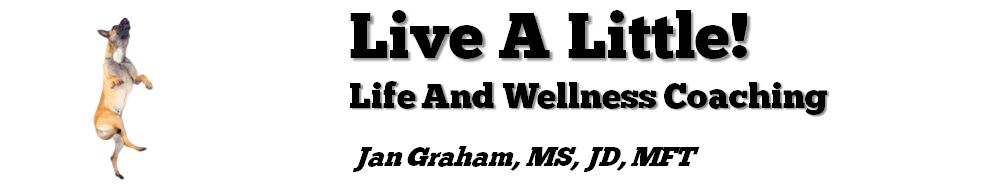 <br>Live A Little!<br> Life &amp; Wellness Coaching