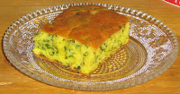Corn bread with spinach1