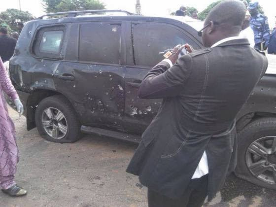 buhari bulletproof car