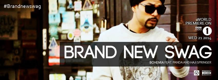 BOHEMIA the punjabi rapper - Interview on BBC RADIO 1 & Brand New Swag
