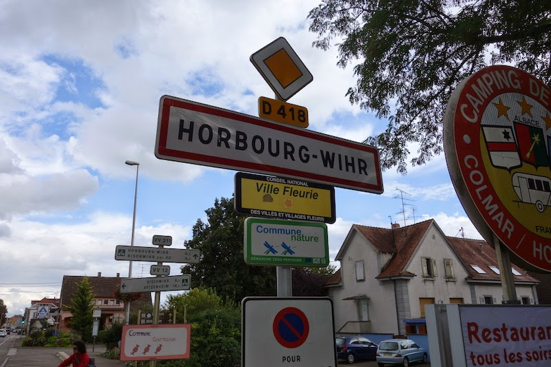 Horbourg-Wihr près de Colmar