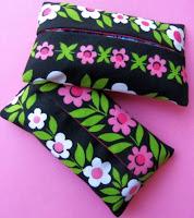 Porta-lenços de tecido passo a passo