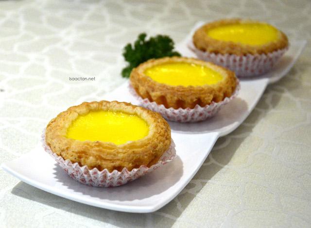 Freshly Baked Egg Tarts - RM9.80
