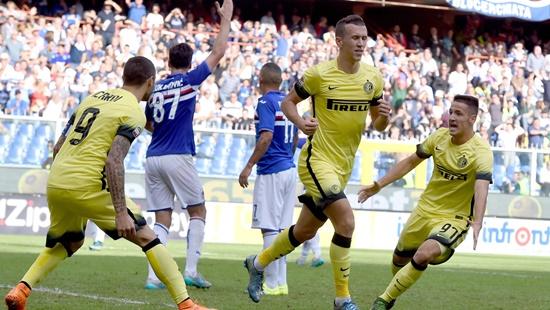 Sampdoria 1 x 1 Internazionale - Calcio 2015/16