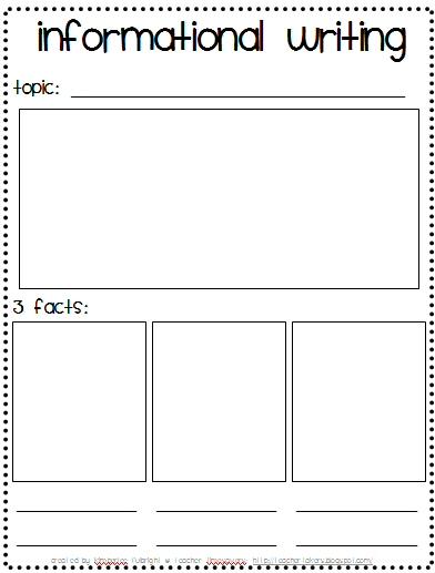 Book report graphic organizer 2nd grade