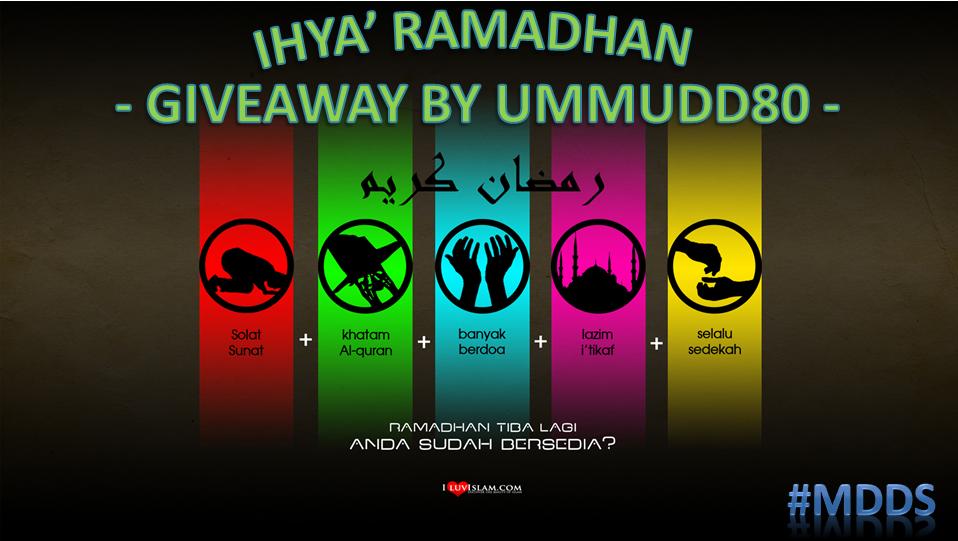 Giveaway | Ramadhan | Shaklee | Sg. Buloh | Setiawangsa Malaysia | Sabah | Sarawak