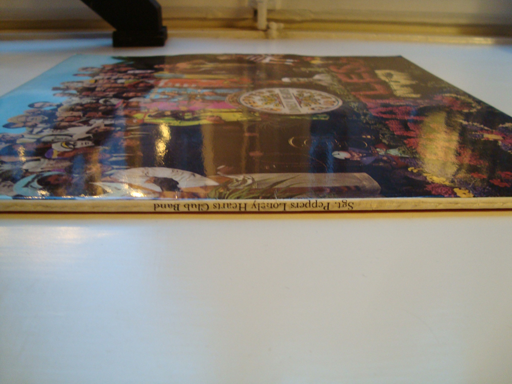 Vinyl Stockholm Beatles Sgt Pepper Lp 1967 Parlophone