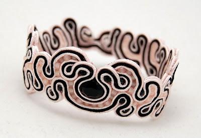 sutasz bransoletka  soutache bracelet 9
