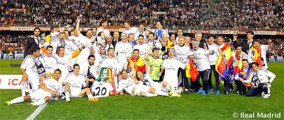 Real Madrid Campeón de la Copa del Rey 2014