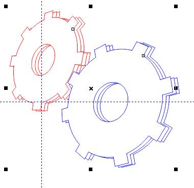 Tạo hiệu ứng hình khối trong CorelDraw