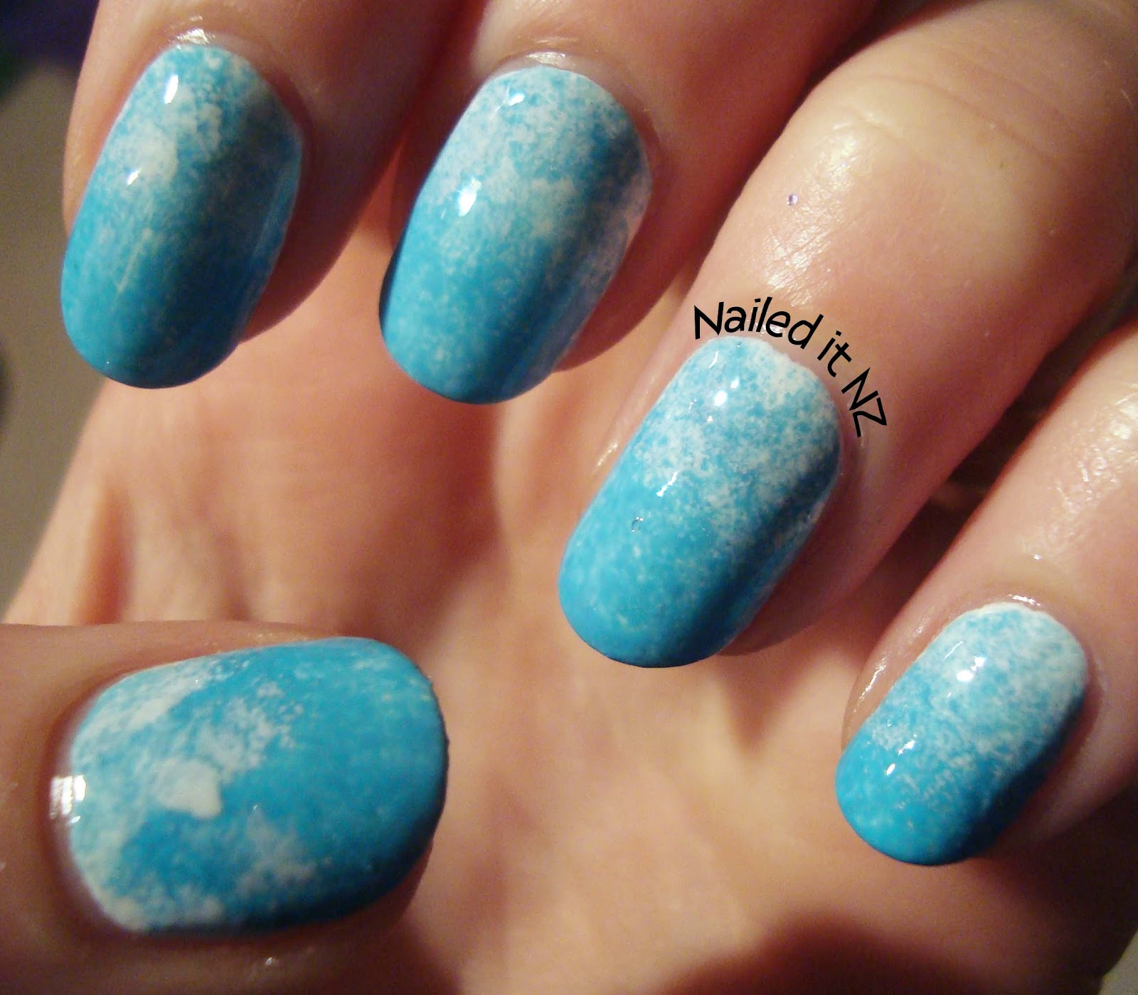 Horse nail art